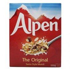 Alpen Original Meuseli 550 g (2 Boxes)