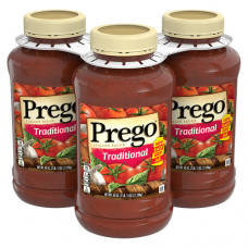 Prego Traditional Pasta Sauce (3 pack) 45 oz